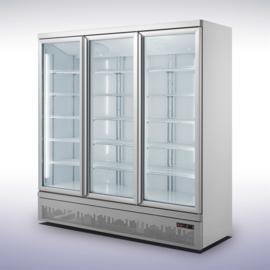 Professionele koelkast met 3 glazen deuren