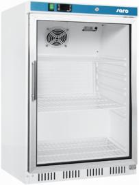 Display koelkast | Onderbouw Koelkast met glasdeur
