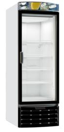 Diepte koeling met glasdeur 322 Liter van -3/+3