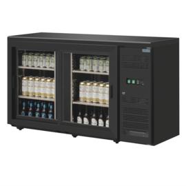 Bar koelkast onderbouw 2 schuifdeuren