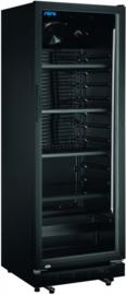Horeca koelkast glazen deur | Display koelkast zwart