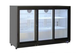 Onderbouw koelkast met schuif deuren