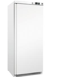 Wit Stalen koeling 600 liter, statisch gekoeld met ventilator