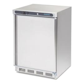 Tafelmodel model  koelkast  RVS 150 Liter