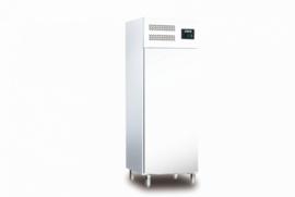 Professionele Horeca koelkast wit staal 537 Liter