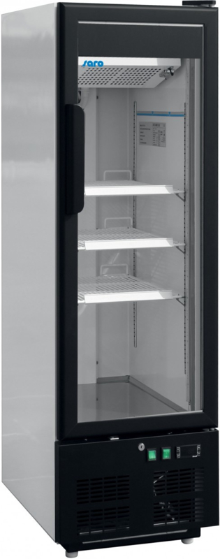 Vrieskast met glasdeur  215 liter