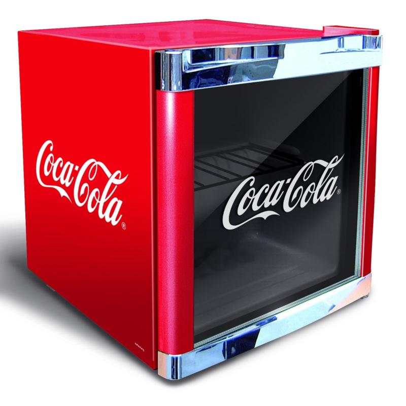 Mini koelkast | Opzet koelkast CocaCola