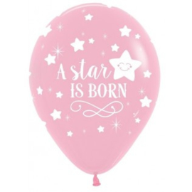 Ballon a star is born rose