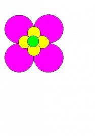 9 Ballonnen bloem