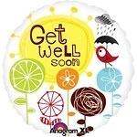 Get Well Soon Birdie Foil