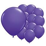 5 inch (12cm) ballon paars