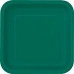Kartonnen Bord Vierkant Donker Groen