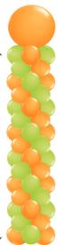 Ballonnenpilaar Extra large met topballon