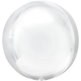 Wit Orbz Ballon