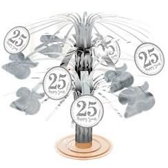 Centerpiece  25 jaar Zilver