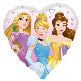 Disney Princess Heart Folie Ballon