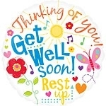 Get Well Messages Foil