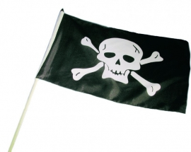 Black Pirates vlag