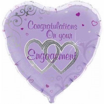 Congratulations On Your Engagement  Folie Ballon