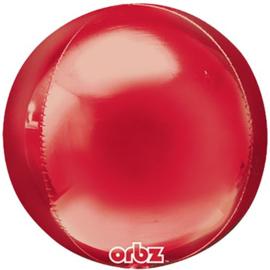Rood Orbz Ballon