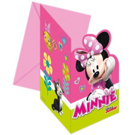 Mini Mouse Happy Helpers Uitnodigingskaarten