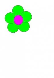 6 Ballonnen bloem
