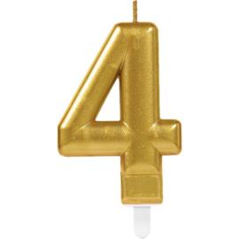Cijferkaars Goud nr. 4