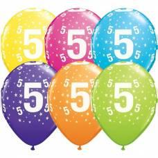 Helium ballon leeftijd 5 jaar
