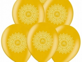 Communie Ballon Goud