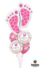 Love You Baby Girl Ballonnenboeket