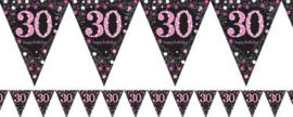 Vlaggenlijn 30 Pink Sparkling Celebration