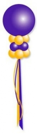 Helium ballonnenpilaar