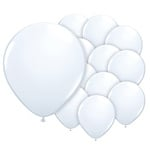 5 inch (12cm) ballonnen wit