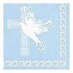 Dove Cross Blue Servetten