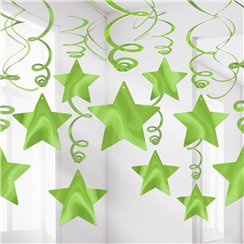 Lim Green Star Hanging decorations