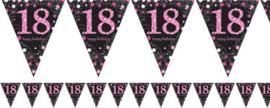 Vlaggenlijn 18 Pink Sparkling Celebration