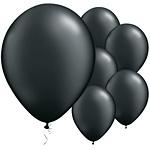 Ballonnen Metallic Zwart