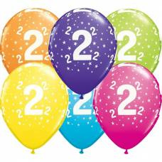 Helium ballon leeftijd 2 jaar