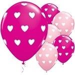 Ballon Big Hearts Rose