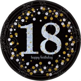 Bordjes 18th Gold Sparkling Celebrations