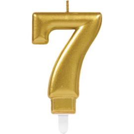 Cijferkaars Goud nr. 7