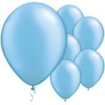 Ballonnen pearl Azure Blue