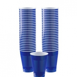 Amerikaanse Cups Blauw