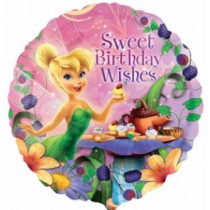 Tinkelbell Sweet Birthday Wishes  Foil