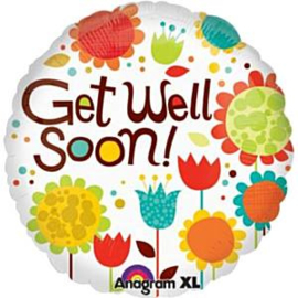 Get Well Cherry Flowers Foil