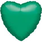Folieballon hart groen