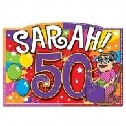 Deurbord Sarah