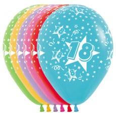 Helium leeftijd ballon 18 inch (45cm)
