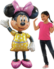 Minnie Mouse Airwalker Folie Ballon