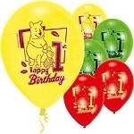 Winnie De Poeh ballonnen 1 Jaar